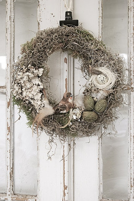 Rustic Christmas Wreath Idea Design