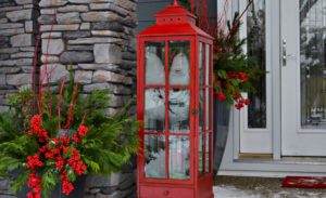 31 Fabulous Porch Christmas Decoration