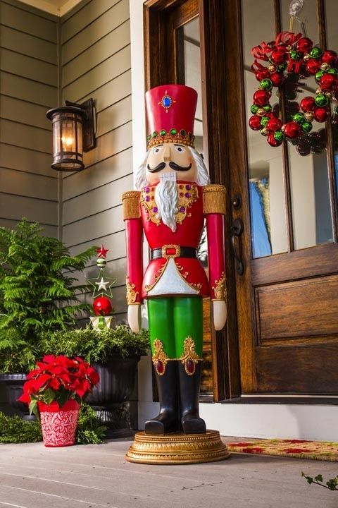 30 best outdoor christmas decorations ideas for Best christmas decorations