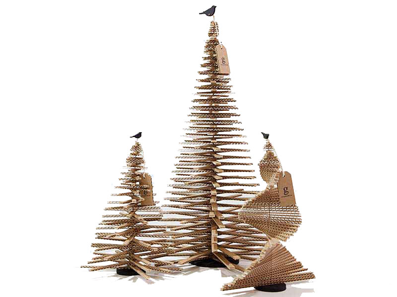 Cardboard Christmas Trees Thewowdecor