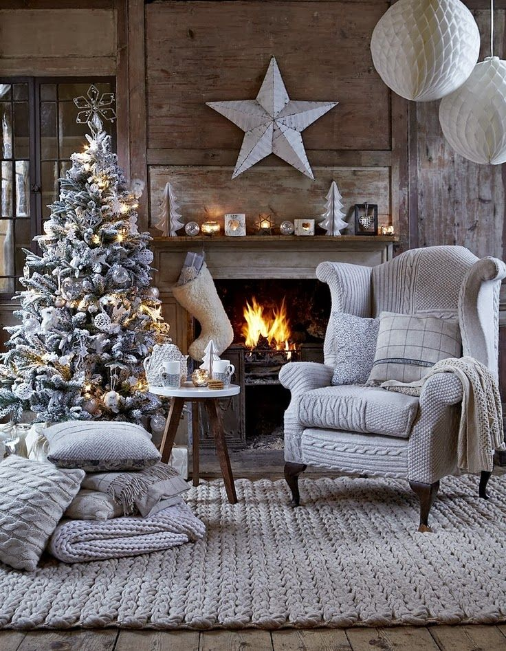 Christmas Living Room Decor Ideas (13)