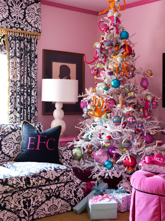 christmas living room decor ideas 18