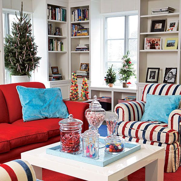 christmas living room decor ideas 27