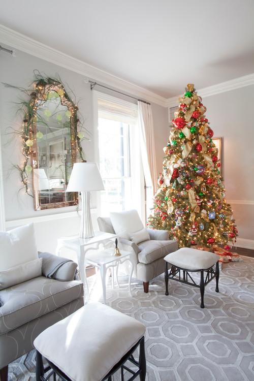 50 christmas living room decor ideas - Living room design ideas and photos ...