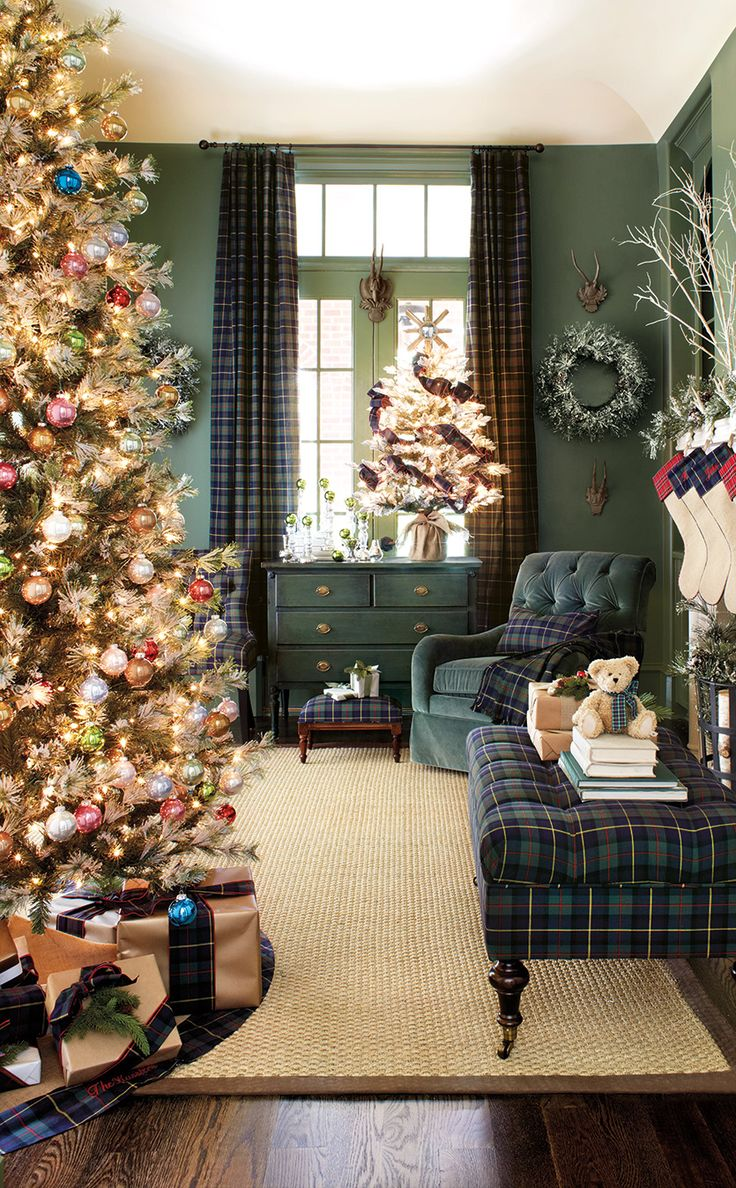 Christmas Living Room Decor Ideas (3)