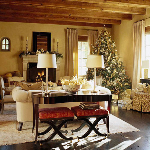 Christmas Living Room Decor Ideas (38)