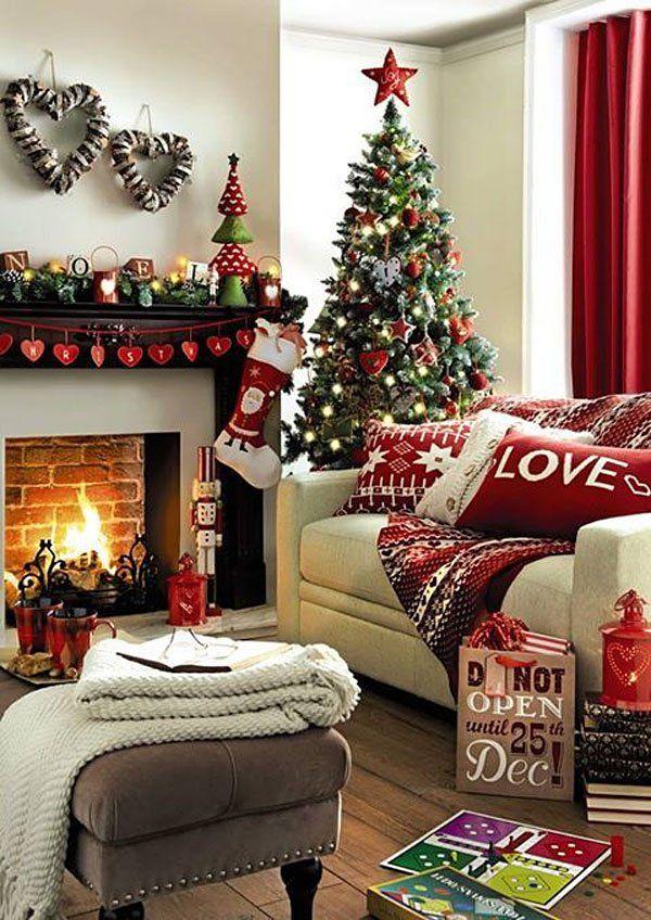 Christmas Living Room Decor Ideas 41