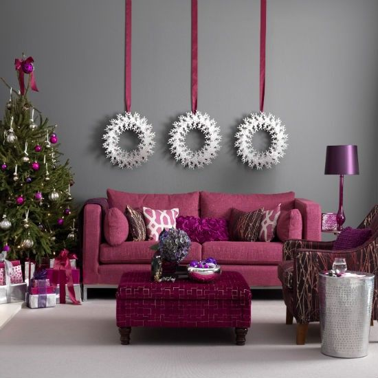Christmas Living Room Decor Ideas (43)