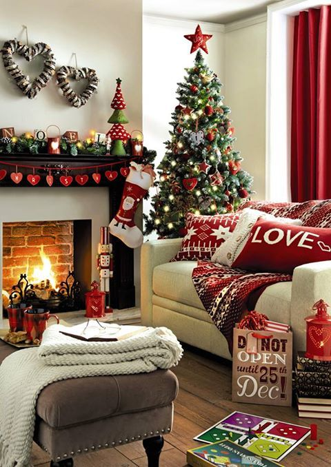 Christmas Living Room Decor Ideas (5)