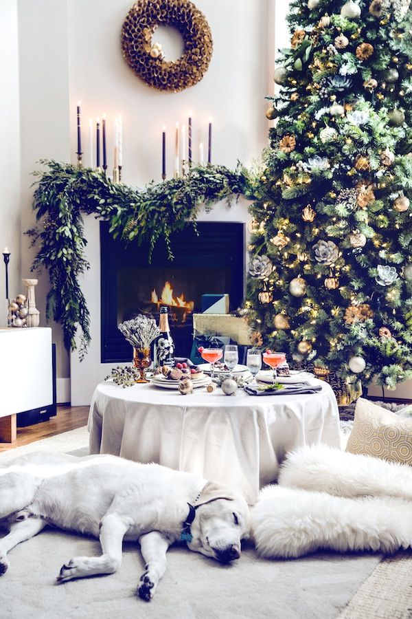 Christmas Living Room Decor Ideas (9)