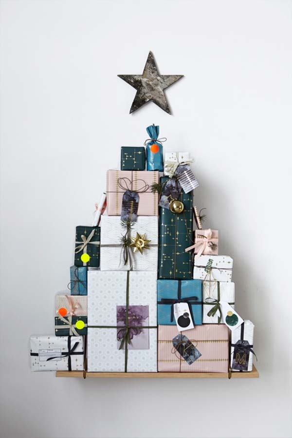 Christmas Present Tree Thewowdecor