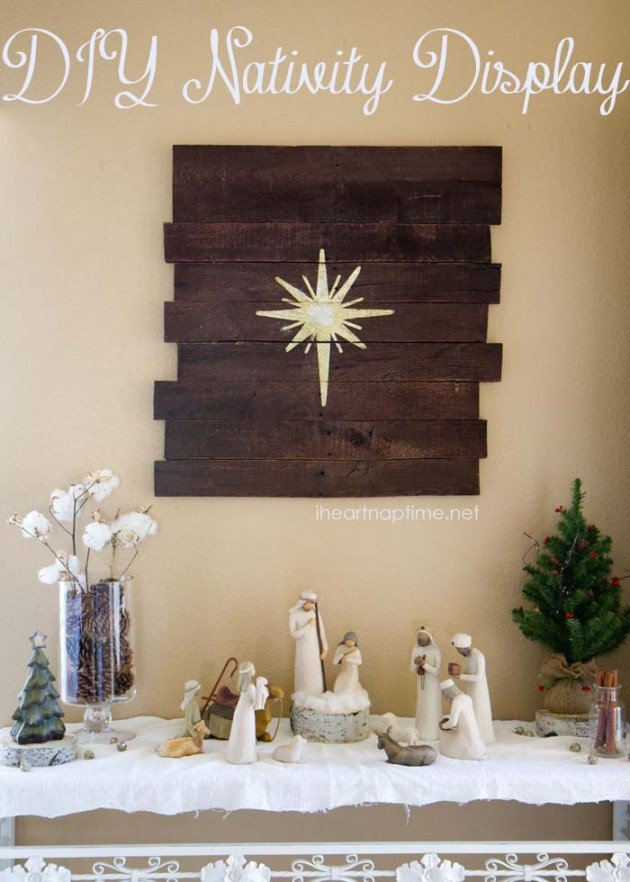 diy christmas wall art ideas thewowdecor 14