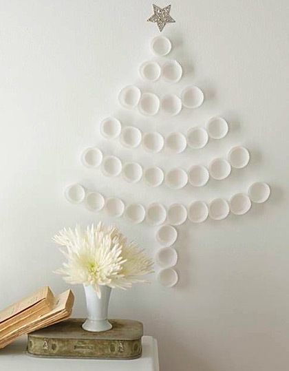 DIY Christmas Wall Art Ideas Thewowdecor (24)