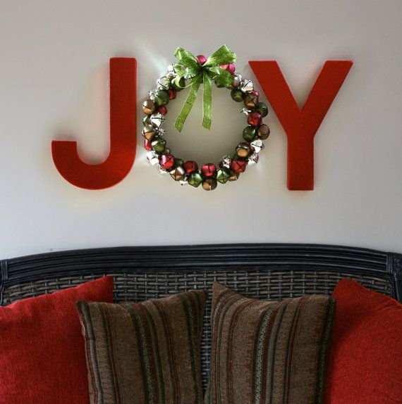 DIY Christmas Wall Art Ideas Thewowdecor (8)