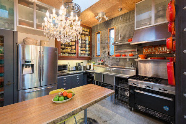 Eclectic Kitchen Design Ideas (30)