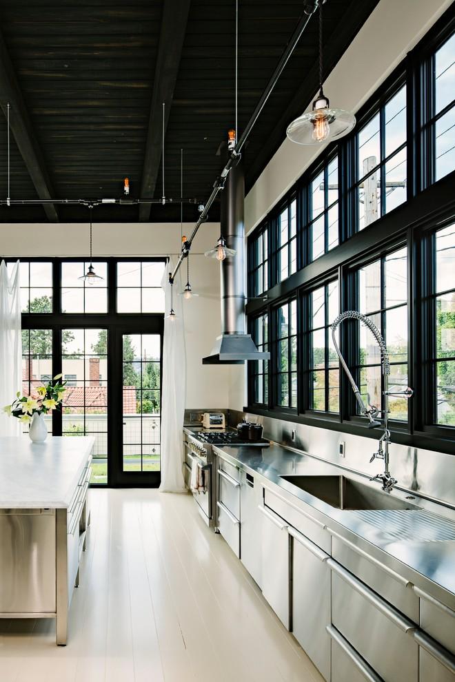 Industrial Kitchen Steel Kitchen