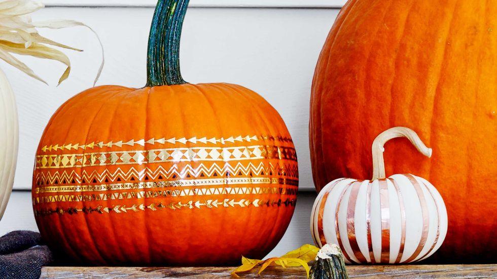 Metalic-Pumpkins