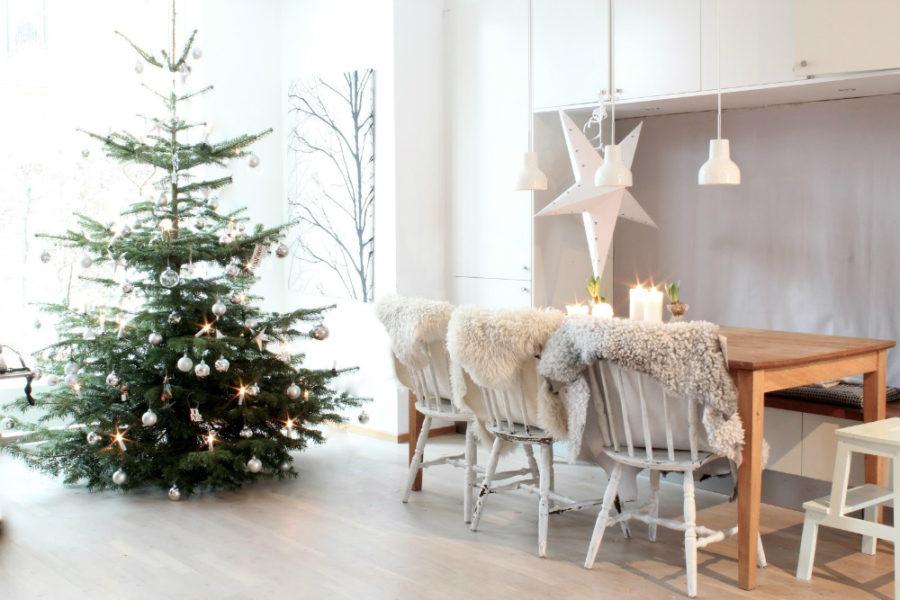 Minimalistic Scandinavian Christmas Decor Dwellingdecor