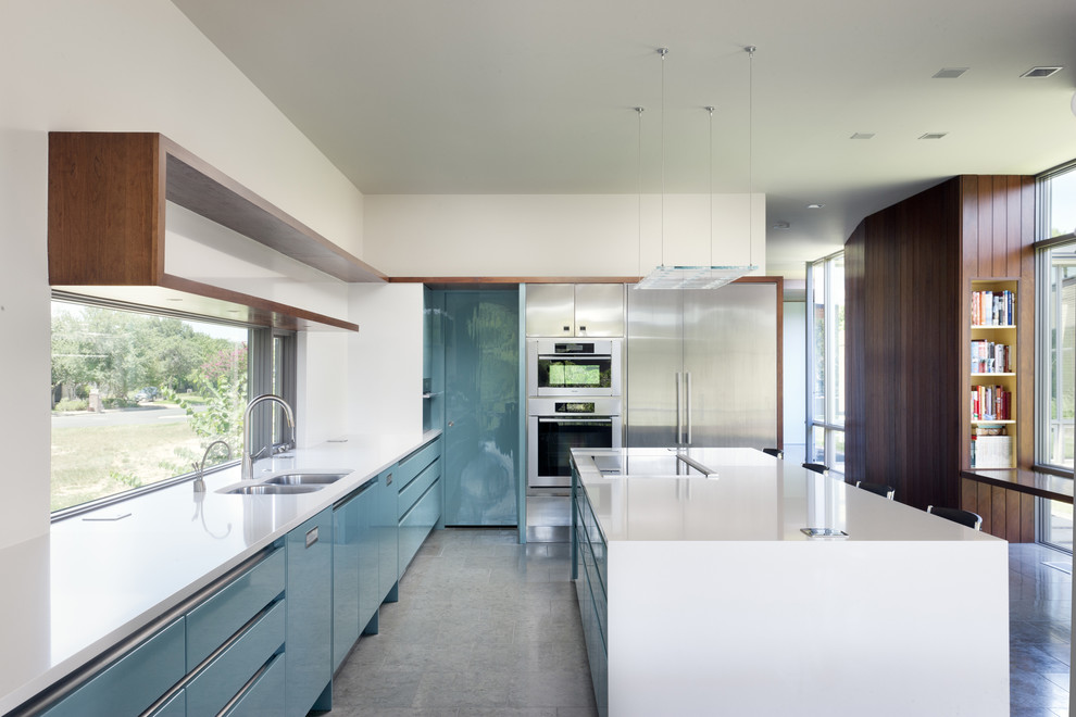 Modern Midcentury Kitchen Design