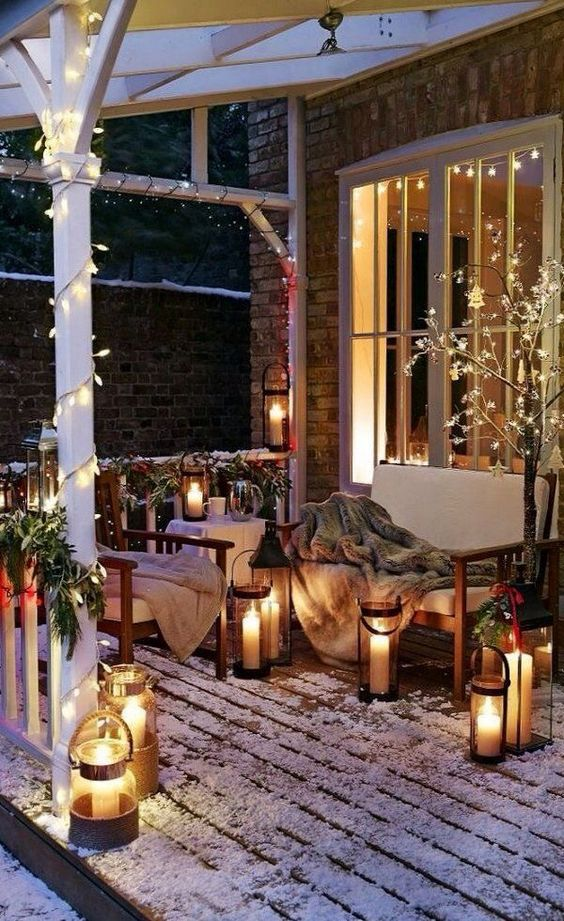 Outdoor covered space decoration dwellingdecor