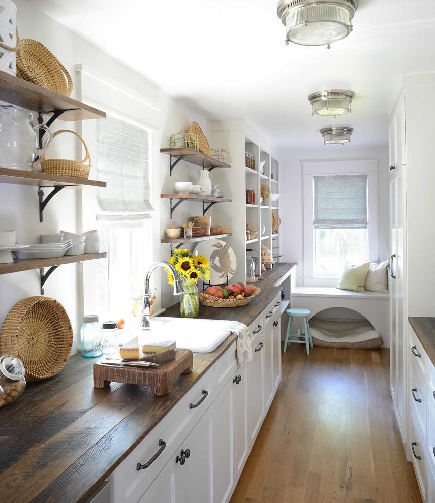 Reclaimed Beach Style Kitchen design