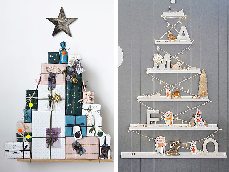 Shelf Christmas Trees Thewowdecor