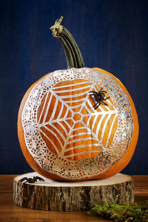 Spiderweb-Pumpkins