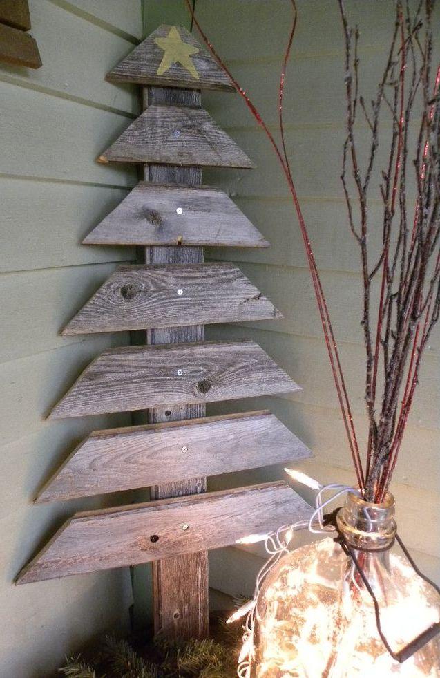 Wood Pallet Christmas Tree Thewowdecor
