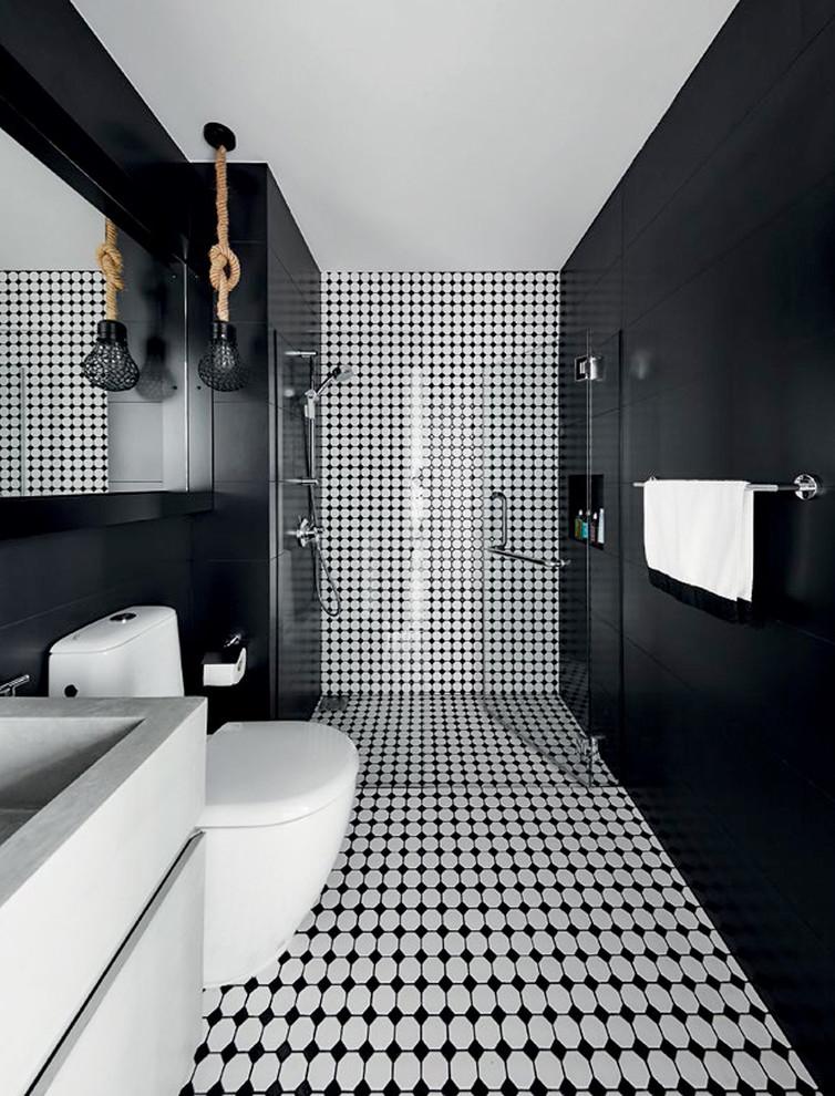 contemporary-bathroom-dark