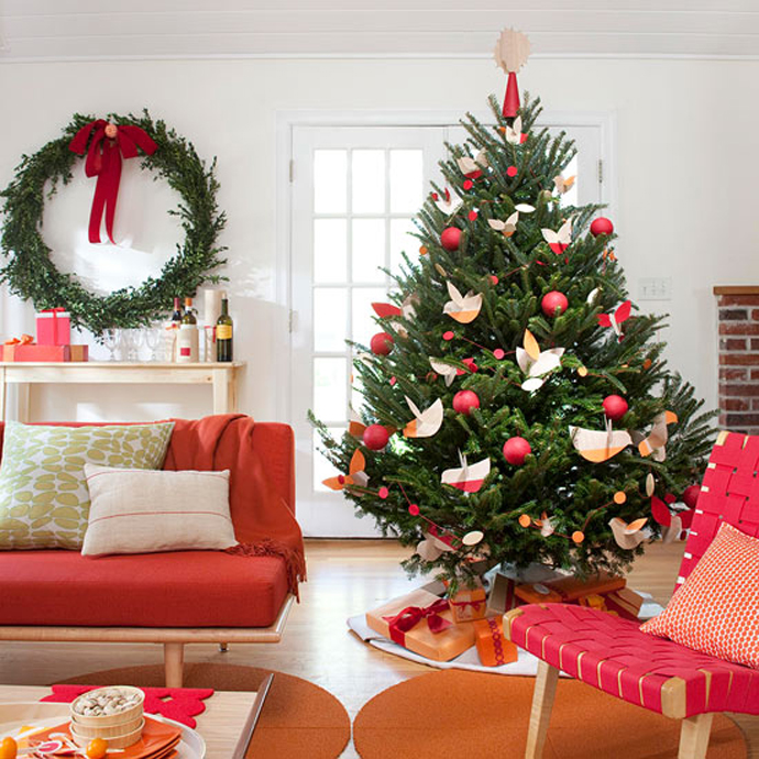 Best Decorated Christmas Trees - Best red christmas decor ideas