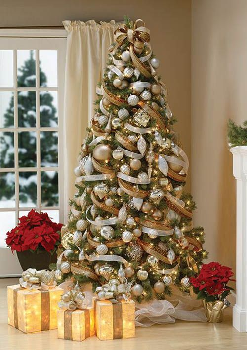 best decorated christmas trees 2017 23 - Pictures Of Decorated Christmas Trees