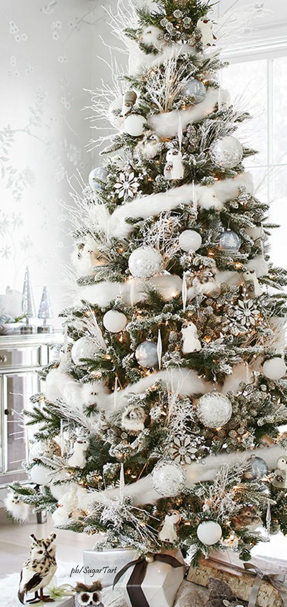 best decorated christmas trees 2017 32