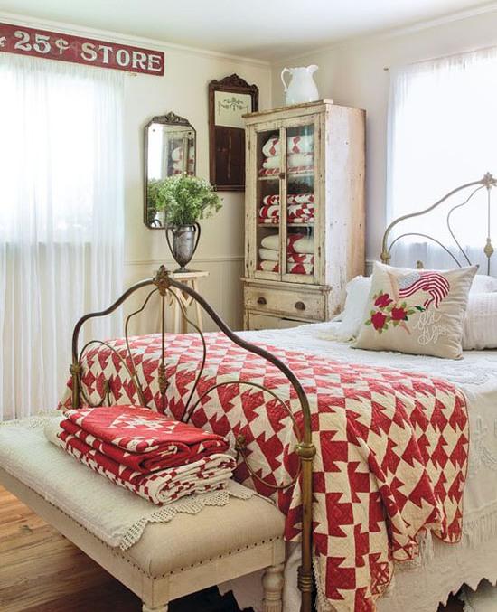 Christmas Bedroom Decor Ideas thewowdecor (34)