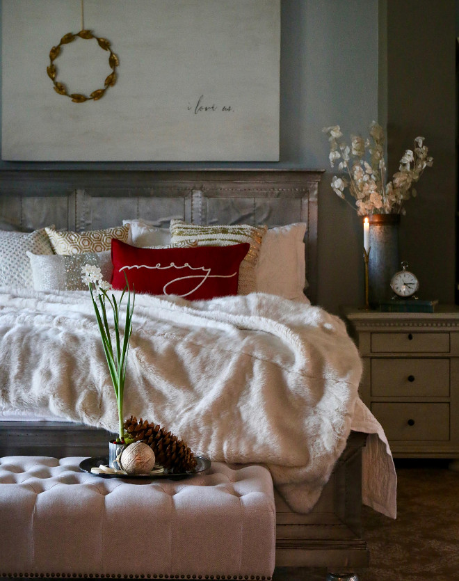 christmas bedroom decor ideas thewowdecor 41