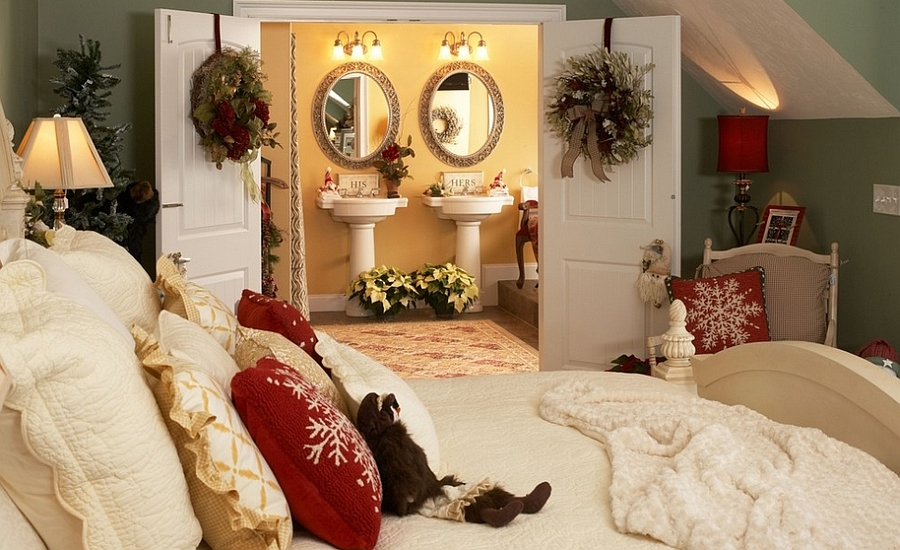 45 christmas bedroom decor ideas nov 10 2017 3shares - Christmas Bedroom Decor Ideas