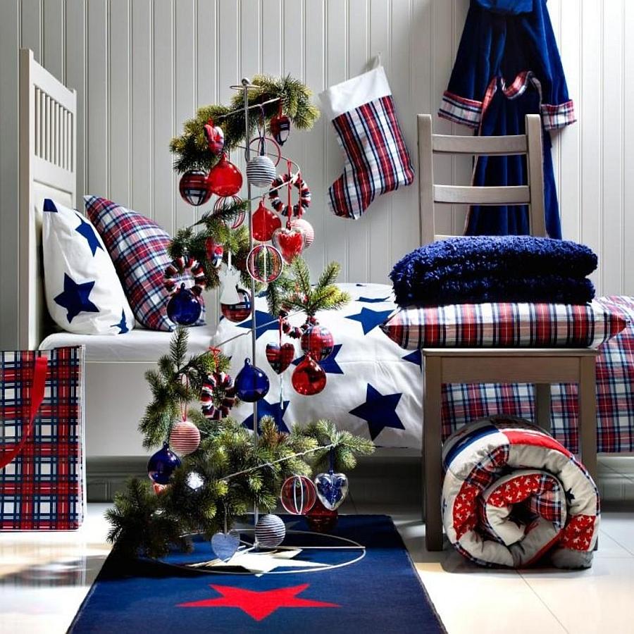 Christmas Bedroom Decor Ideas thewowdecor (6)