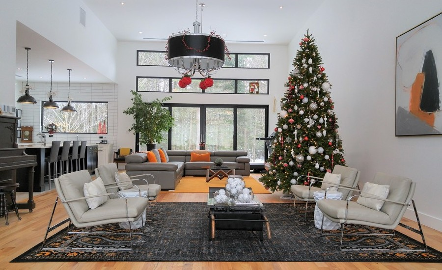xmas living rooms 50 best living room decor ideas 11437