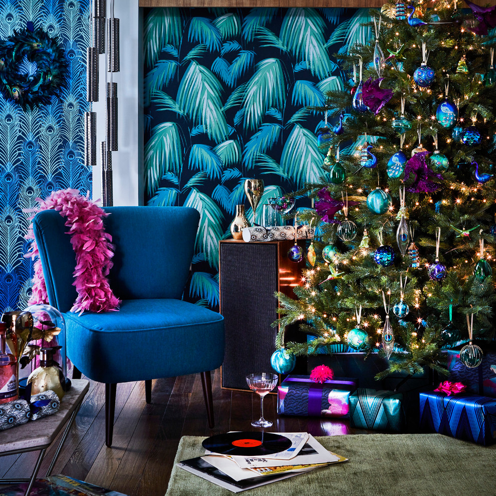 Christmas Living Room Decor Ideas thewowdecor (16)