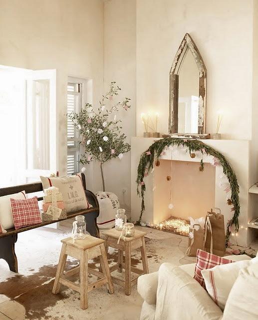 Christmas Living Room Decor Ideas thewowdecor (27)