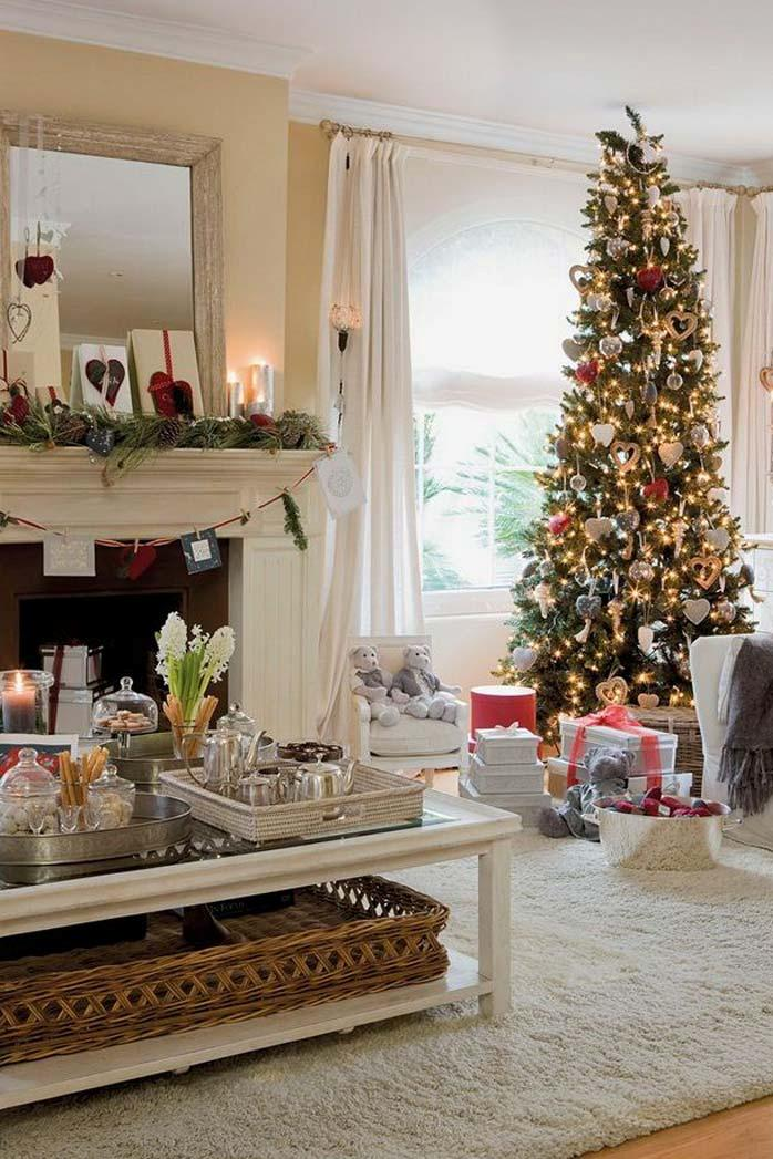 christmas living room decor ideas thewowdecor 39 - Ideas On Living Room Decor