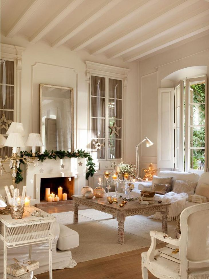 Christmas Living Room Decor Ideas thewowdecor (40)
