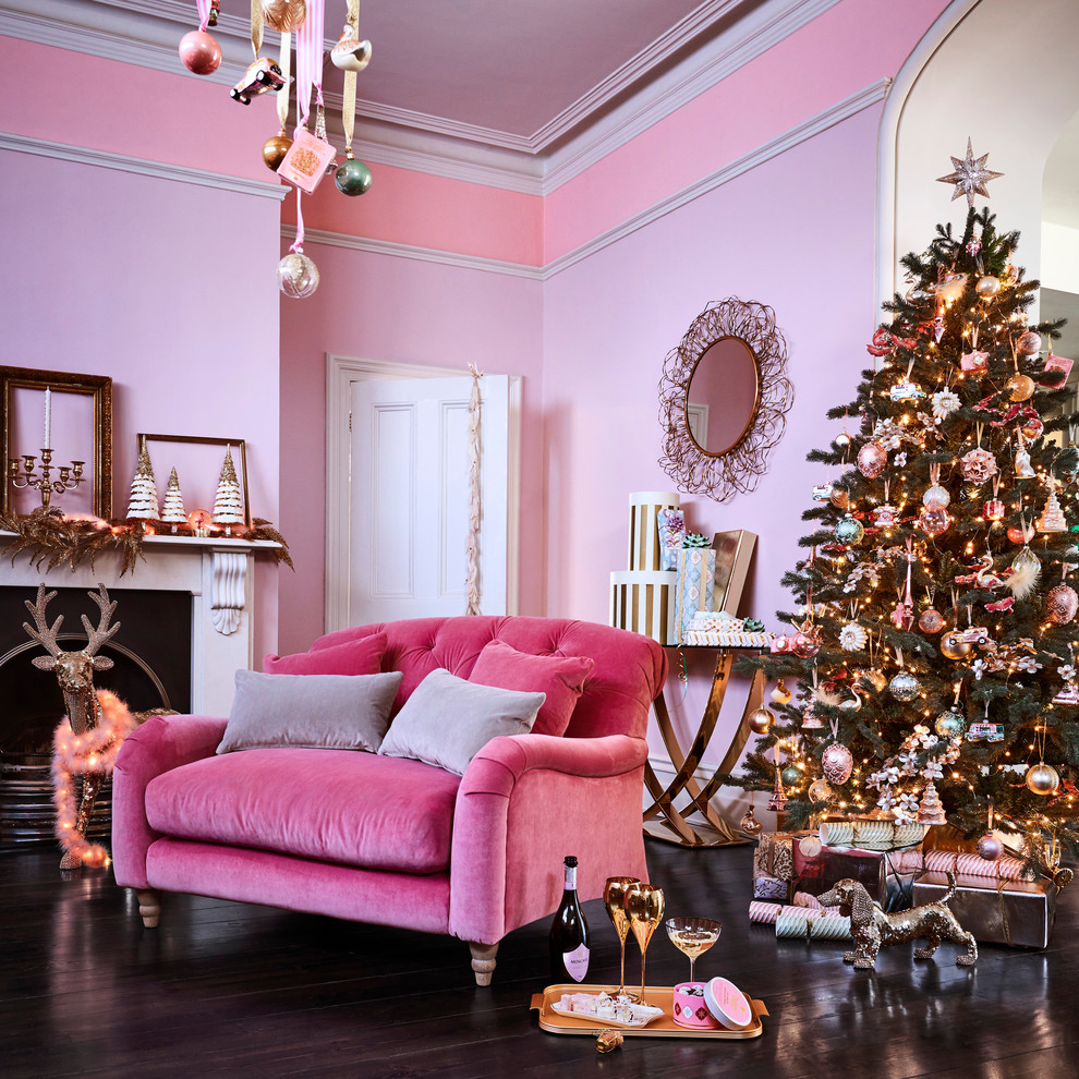 Christmas Living Room Decor Ideas thewowdecor (45)