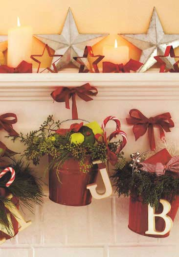 country style christmas decorating ideas - Country Christmas Decorations