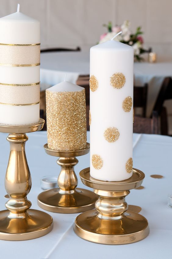 Gold Christmas Decoration Ideas (28)