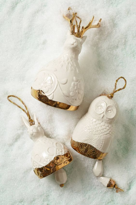 Gold Christmas Decoration Ideas (29)
