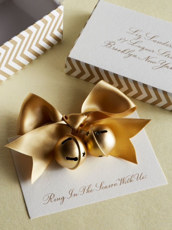 Gold Christmas Decoration Ideas (5)