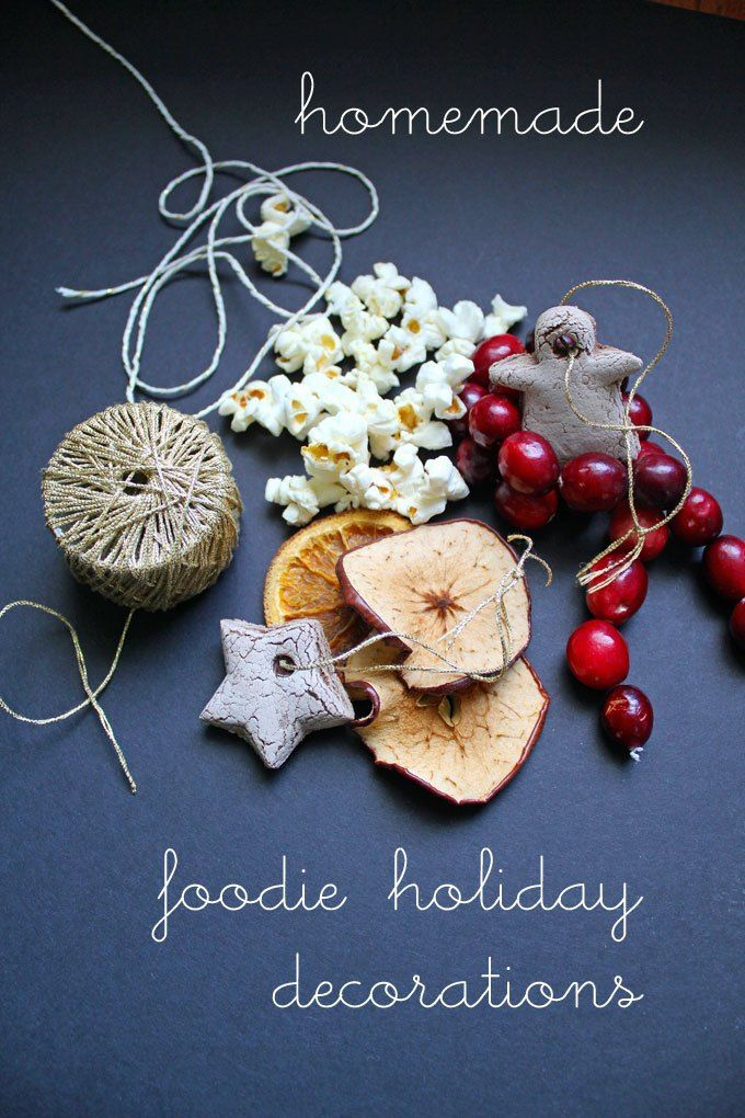 Homemade Christmas Decorations Holiday
