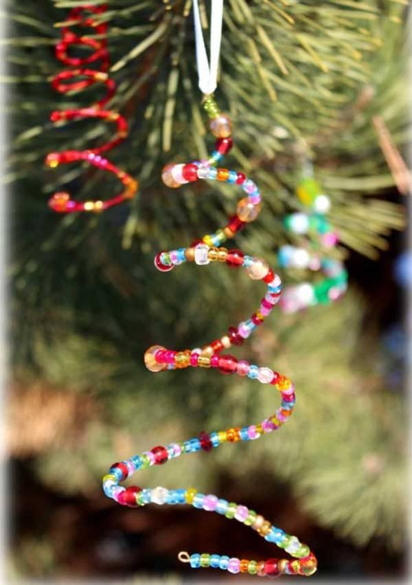 Kids Homemade Christmas Tree Ornaments