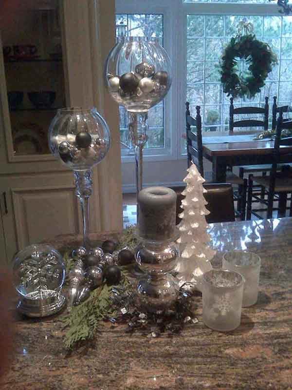 kitchen island christmas decorating ideas - How To Decorate Your Kitchen Island For Christmas