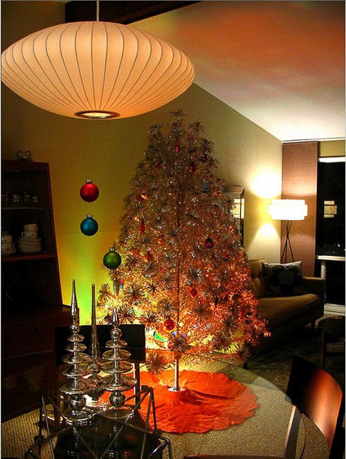 40 stunning modern christmas decoration ideas for Modern christmas decor
